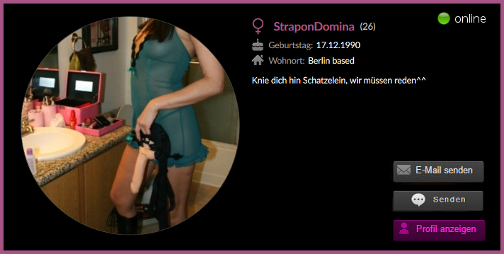 Die Strapon Domina